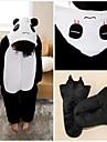 kigurumi Pyjamas Panda Collant/Combinaison / Chaussons Fete / Celebration Pyjamas Animale Halloween Noir Mosaique Toison de Coral Kigurumi