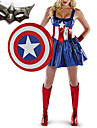 Women\'s America American Dream Sassy Deluxe Cosplay Costume with Mask