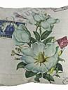 land eleganta blommar kreativt hem bomull och linne dekorativa örngott