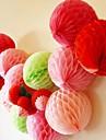 8 tum honeycomb mjukpapper blomma boll (fler färger)