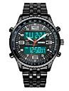 SKMEI Bărbați Ceas Militar Ceas La Modă Ceas de Mână Ceas digital Quartz Piloane de Menținut Carnea Quartz JaponezLCD Calendar Cronograf