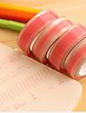 rosa spetsmönster scrapbooking lim tejp 10m 1 st