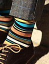 Men\'s Cotton Socks Fashionable Stripe   Men\'s Socks