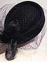Hattar Headpiece Dam Bröllop/Speciellt Tillfälle Tyll/Polyester Bröllop/Speciellt Tillfälle