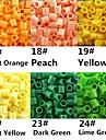 ca 500st / väska 5mm Perler pärlor smälta pärlor Hama Pärlor eva material safty för barn (diverse b17-b24)