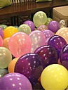100pcs mylar perle ballon (couleurs assorties)