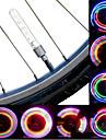 Cykellyktor / hjul lampor / Blinkande ventil LED Cykelsport batterier Lumen Batteri Cykling-Belysning