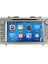 8inch 2 DIN In-Dash bil dvd-spelare för Toyota Camry 2007-2011 med GPS, BT, iPod, RDS, FM, pekskärm