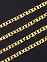 Bijuterii Lănțișoare Petrecere Articole de ceramică / Placat Auriu Bărbați Auriu Cadouri de nunta