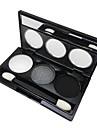 3 Eyeshadow Palette Eyeshadow palette Powder Normal Daily Makeup / Party Makeup