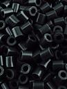ca 500st / väska 5mm svarta säkrings pärlor Hama Pärlor DIY sticksåg eva material safty för barn hantverk