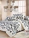 manmer® påslakan set, supermjuk hudvänlig slipning aktiv utskrift sängkläder en familj på fyra fulla