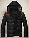 la mode des hommes de manteau de coton de hoodie de gxxg