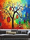 konstnärlig färgrik likt träd valsen nyans