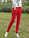 vrouwen causale snoep kleur linnen schede lange broek