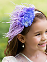 Flower Girl\'s Feather Headpiece-Wedding / Special Occasion Flowers