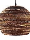 60W Rustic/Lodge / Globe / Drum / Island / Bowl / Vintage / Lantern / Country Metal Pendant Lights Living Room