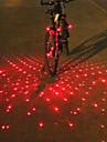 Eclairage de Velo / bicyclette Lampe Avant de Velo Lampe Arriere de Velo Eclairage guidon velo LED Laser CyclismeAlarme multi-alat