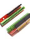 vis bouclier cartes d\'extension du terminal v2 pour Arduino - rouge (2 pcs)