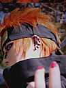 orange, perruque cosplay inspire par naruto pein