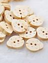 coleopteres Scrapbook scraft couture bricolage boutons en bois (10 pieces)