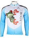 PALADIN® Maillot de Cyclisme Homme Manches longues Velo Respirable Sechage rapide Resistant aux ultraviolets Maillot Hauts/Tops100 %