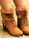 botas sapatos da moda das mulheres ankle boots salto robusto com zipper mais cores disponiveis