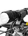 Lampes Torches LED Lampe Avant de Velo LED Cyclisme Faisceau Ajustable 18650 Lumens BatterieCamping/Randonnee/Speleologie Usage quotidien