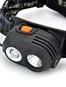 Eclairage Lampes Frontales 200-230 Lumens Mode Cree XR-E Q5 18650 Etanche / Rechargeable / Resistant aux impacts