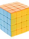 Qiji® Cube de Vitesse  4*4*4 Vitesse Niveau professionnel Cubes magiques Arc-en-ciel Anti-pop ressort reglable ABS