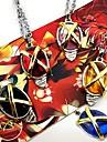 Smycken Inspirerad av Cosplay Cosplay Animé Cosplay Accessoarer Halsband Svart / Röd / Gul / Blå / Lila Legering / Konstädelstenar / Resin