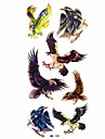 vattentät eagle tillfällig tatuering klistermärke tatuering prov form för kroppsutsmyckning (18.5cm * 8.5cm)