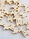 sömnad giraff scrapbook scraft DIY trä knappar (10 st)