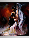 Oil Painting People Dancer 1303-PE0217 Hand-Painted Canvas
