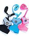 Cat / Dog Harness / Leash Breathable Black / Blue / Pink Nylon