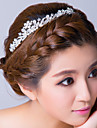 Women\'s Rhinestone / Alloy Headpiece-Wedding / Special Occasion Headbands Clear Flower