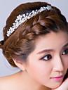 Women\'s Rhinestone / Alloy Headpiece-Wedding / Special Occasion Headbands Clear Flower