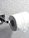porte papier toilette, en acier inoxydable finition chrome accessoire de salle