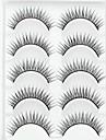 ögonfransar Ögonfrans Ögonfrans Naturligt långa Volumized / Naturlig Fiber