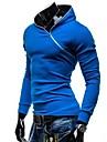 Men\'s New Oblique Zipper Hoodie