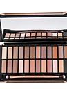 24 Palette Fard a paupieres Sec Mat Palette Fard a paupieres Poudre Ordinaire Maquillage Quotidien Maquillage d\'Halloween