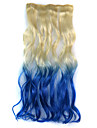 Frozen Queen Gold and Blue Gradient Party Wig