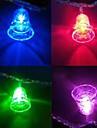 Christmas Bells 4.5m LED 28 lumieres colorees a cordes