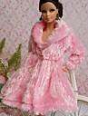 Fete / Soiree Robes Pour Poupee Barbie Rose Hauts Pour Fille de Doll Toy