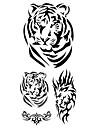 #(1) Tatouages Autocollants Series animales Motif ImpermeableHomme Femelle Adulte Adolescent Tatouage Temporaire Tatouages temporaires