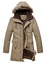 WAN pulovăr solid de culoare cu maneca lunga haina bărbați