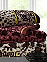 SenSleep® 3pcs Hand Towel Pack, Multi-Color Leopard Design 100% Cotton Hand Towel