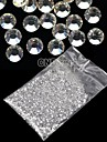 20000Pcs 1.5mm Clear Round Rhinestones Hard Case Nail Art Decorations