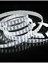 ZDM™ Waterproof 5M 144W 600*5050 SMD 9600LM Cool /Warm White Double Casing Underwater Light LED Strip Lamp (DC12V)