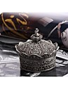 Elegant Royal Crown Shape Trinket Box Jewelry Box
